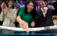 IAS CEO Rings Nasdaq Closing Bell On First Trading Day