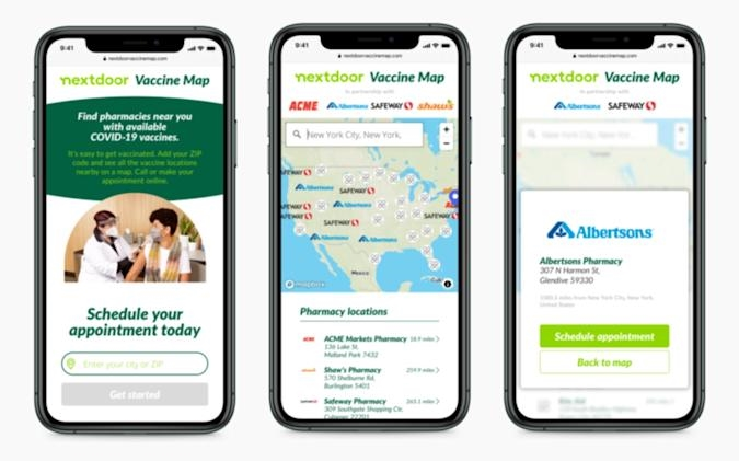 Nextdoor can help you find and book COVID-19 vaccinations | DeviceDaily.com
