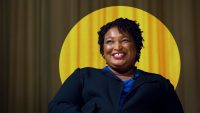 Stacey Abrams was just nominated for an Emmy Award. Really