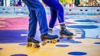 The roller rink is making a comeback