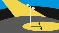 These solar, WI-Fi-connected streetlights are replacing ones that were repossessed by the utility company
