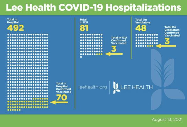 Delta variant devastation: Florida hospitals show vaccinated vs unvaccinated ICU patient data   DeviceDaily.com