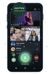 Telegram's video calls can now accommodate up to 1,000 viewers