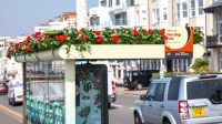 Why U.K. bus stops suddenly smell like roses and cucumber