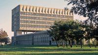 A Brutalist building by a Bauhaus master is reborn as a net-zero hotel