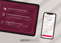 A loyalty boom for David's Bridal using mobile wallet technology