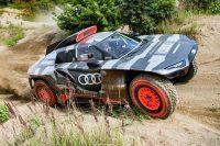 Audi off-road hybrid completes endurance test ahead of Dakar Rally
