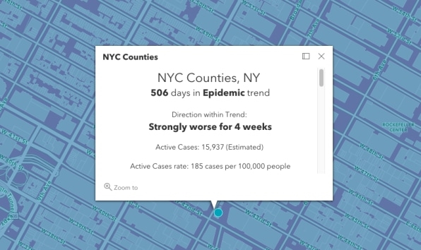 Delta variant update: This tracker map shows COVID hotspots from NYC and Florida to California | DeviceDaily.com