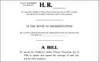 New Bill Would Ban Behavioral Targeting Of Minors