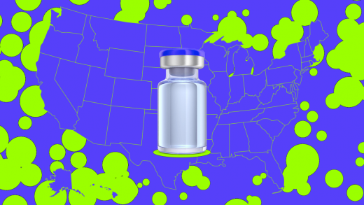 See just how well vaccines slow the spread of the delta variant