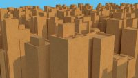 The cardboard real estate boom is here