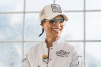 This famous chef made her restaurants meat-free. But soon she'll be putting 'cell-cultured' chicken on the menu