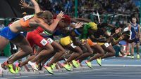 Tracks are designed to favor some athletes over others—but not in the way you think