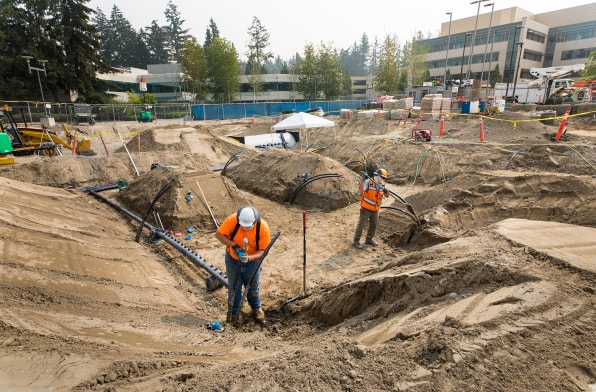 The centerpiece of Microsoft's massive new expansion is 550 feet underground   DeviceDaily.com