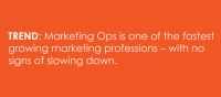 Why marketing ops professionals are on the front lines