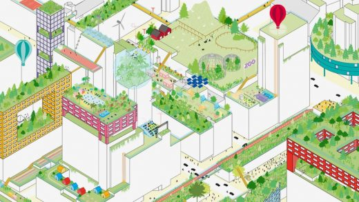 100 ways to make better use of urban rooftops, from parks to tiny homes