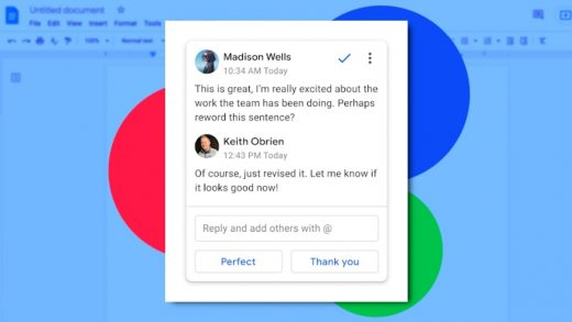 Smart Reply is coming to Google Docs. Here's how to turn it off