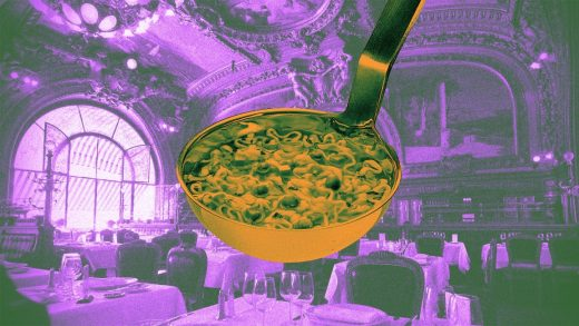 The forgotten history of the world's first restaurant