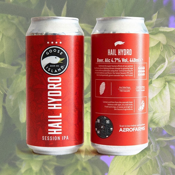 The hops in this new craft beer were grown in an indoor farm   DeviceDaily.com