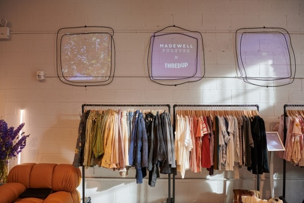 Every garment in this new Madewell store has already been worn | DeviceDaily.com