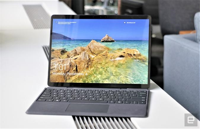 Microsoft's Surface Pro X will start at $899 with Windows 11 refresh   DeviceDaily.com