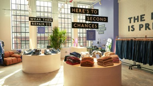 Every garment in this new Madewell store has already been worn