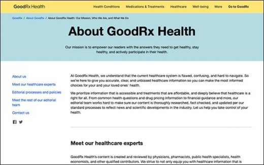 GoodRx Health Launches, Provides Research-Based Answers To Health Questions